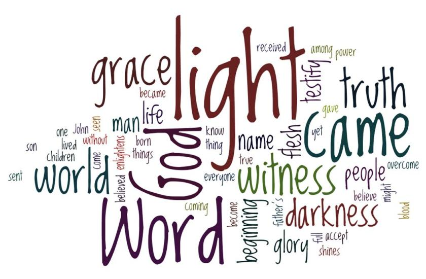 Wordle to Accompany Christmas Day Advent Devotion