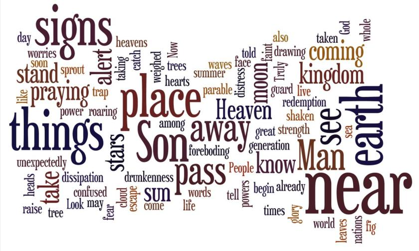 Wordle to Accompany Week #1 Advent Devotion
