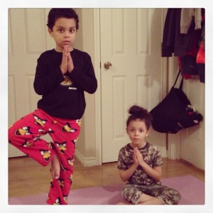 Standing & Seated Prayer Poses